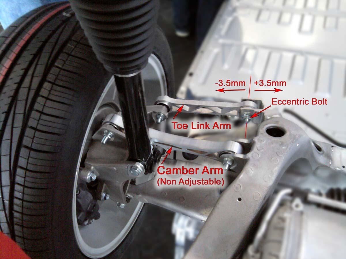 Diagram of Tesla S/X rear suspension.