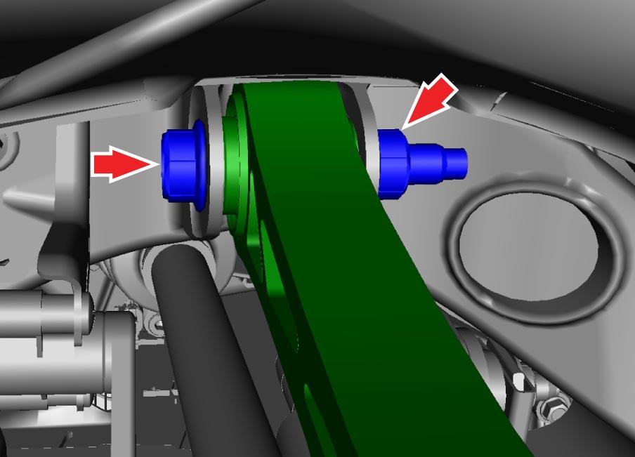 Tesla-Model-S-X-Camber-Arm-Bolt