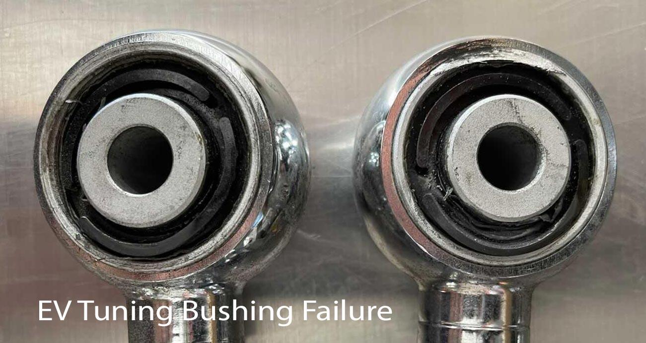 EV Turning camber kit control arm bushing damage reviews