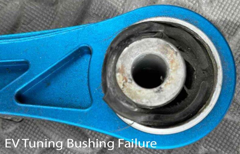 EV Turning camber arm bushing failure review